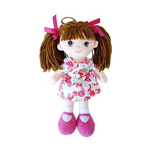 Plush Small Doll (ACHIEWELL Ballet Dolls Cute Soft Plush Ballerina Creative Stuffed Animals 12-Inch (Girl))