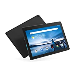 The Lenovo Tab E10 is a fun tablet with the family in mind. Its thin and light profile delivers a surprisingly solid multimedia experience, thanks to an HD display and dual front speakers. The Tab E10 is a fantastic tablet that provides fun f...