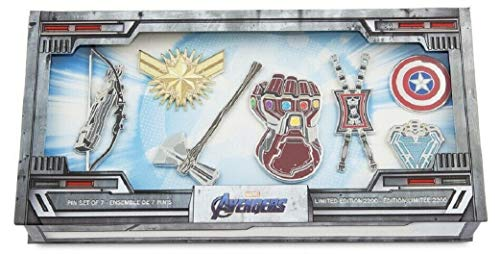(2019 Marvel Avengers: Endgame pin set of 7 Limited Edition Of 2200)