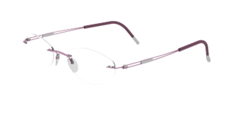 Silhouette TNG 4299//40 Eyeglasses 6053 Rose Blossom 49MM