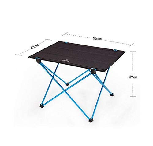 MICHEN Portable Foldable Folding DIY Table Chair Desk Camping BBQ Hiking Traveling Outdoor Picnic 7075 Aluminium Alloy Ultra-Light,L]()