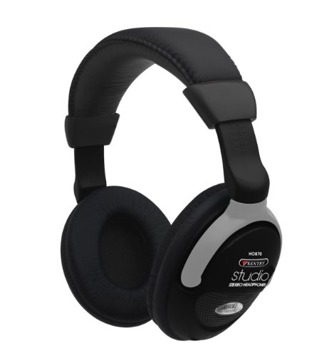 SENTRY 870CDBK Headphones (The Head Over Sentry Headphones)