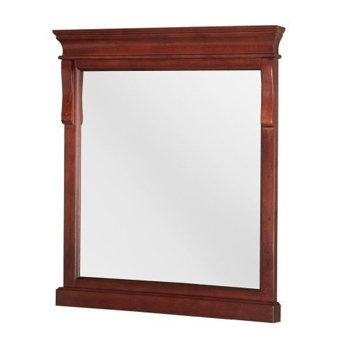 Foremost NATM2432 Naples 24-Inch Width x 32, Height Mirror, Tobacco by Foremost by Foremost