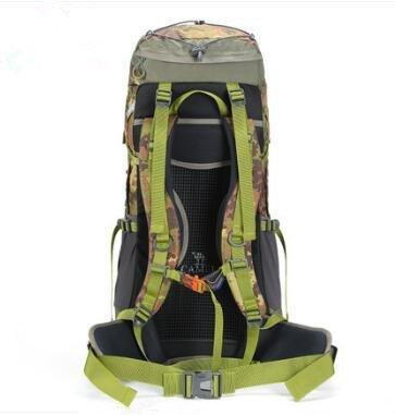 Al aire libre mochila hombres y mujeres senderismo bolsa de viaje Universal 60L