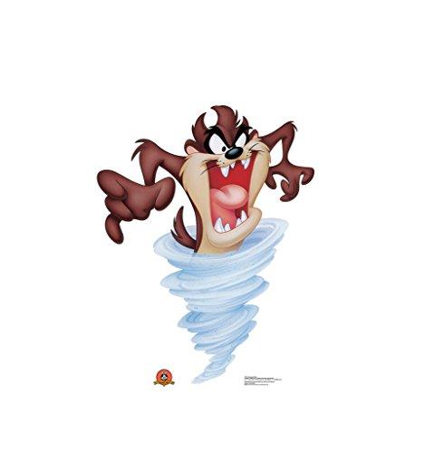 Tasmanian Devil - Looney Tunes - Advanced Graphics Life Size Cardboard Standup (Tasmanian Devil Looney Tunes)