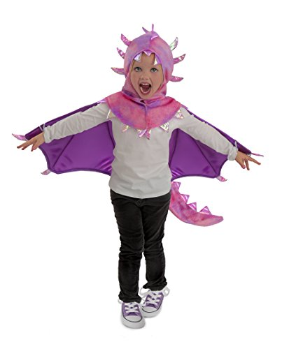 Princess Paradise Kids Hooded Sadie Dragon Costume, X-Small, Pink/Purple ()