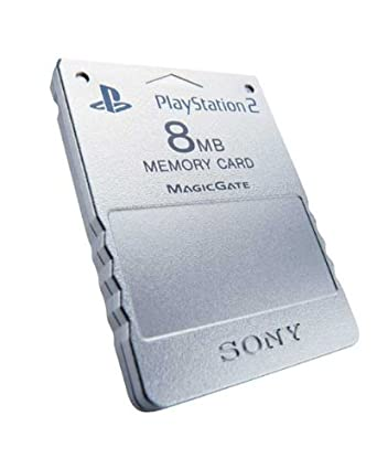 Amazon.com: Official Sony PlayStation 2 Memory Card, 8MB ...