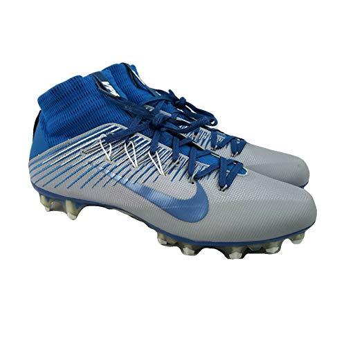 Nike Vapor Untouchable 2 PF Football/Lacrosse Cleats (13.5, Battle Blue/Wolf Grey)