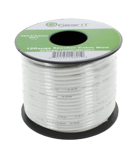GearIT Gauge Speaker Cable White product image