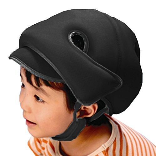 【非課税】 幼児用 保護帽2035 アボネットガードメッシュD ブラック / 8-9349-01 B014IZXX74