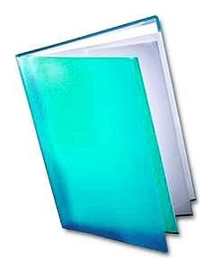 Dekko - Carpeta con fundas para documentos (A3), color azul