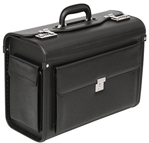 Pilot Case Briefcase Business Laptop Travel Flight Briefcase Bag Hand Luggage (Pilotcase)
