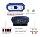 Rechargeable 2000 Lumen Audio LED Work