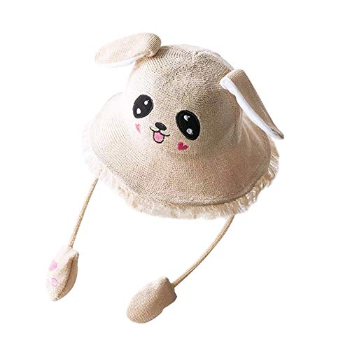 Eforstore Rabbit Sunshade Toy Cap, Moving Rabbit Ears Hat Airbag Toy Cute Children Animal Hat Visor Party Easter Halloween Hat Adult Hat Parent-Child Cap ()