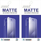 Johra Pack of 2 Matte HD Screen Scratch Protector for Nextbit Robin