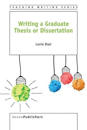Writing A Graduate Thesis Or Dissertation  Teaching Writing Band 4