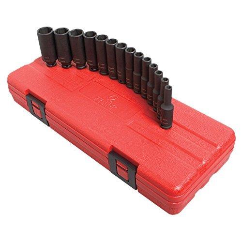 Sunex Tools 1831 0.25 In. Drive Deep Mag Metr 14 Pc by Sunex Tools [並行輸入品] B0184XPIVU