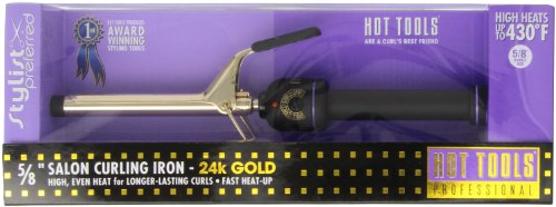 Hot Tools Curling Iron Spring Grip 5/8
