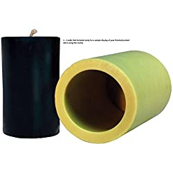"""Mann Lake """"Cylinder"""" Candle Mold, 3-Inch"""