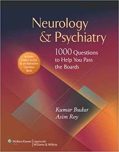 Neurology Psychiatry 1 000 Questions To Help You Pass
