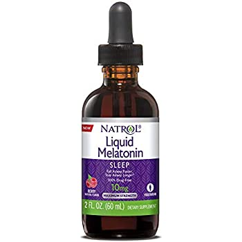 Natrol Natrol Melatonin Liquid 10mg 2oz Tincture, 2 Fluid Ounce
