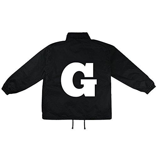 G Buchstabe Motiv auf Windbreaker, Jacke, Regenjacke, Übergangsjacke, stylisches Modeaccessoire für HERREN, viele Sprüche und Designs