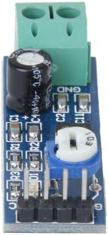 5V LM386 Lautsprechermodul Leistungsverst/ärker Music Player Modul Elektronische Bausteine f/ür UNO R3 34 DEjasnyfall 21mm Schwarz