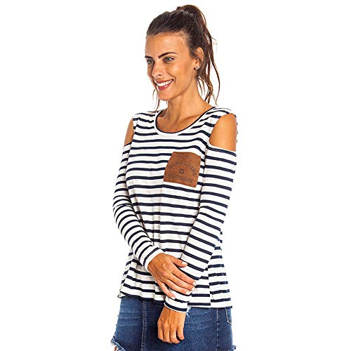 Blusa Stripes Mermaids Feminino Hang Loose Listrado - P