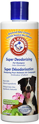 Arm & Hammer Super Deodorizing Shampoo for Dogs | Best Odor Eliminating Shampoo for All Dogs and...