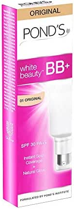 POND'S White Beauty All-in-One BB+ Fairness Cream SPF 30 PA++, 18g (Pack of 3)