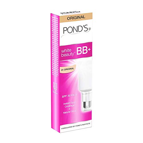 くるみ炎上火山学POND'S White Beauty All-in-One BB+ Fairness Cream SPF 30 PA++, 18g (Pack of 3)