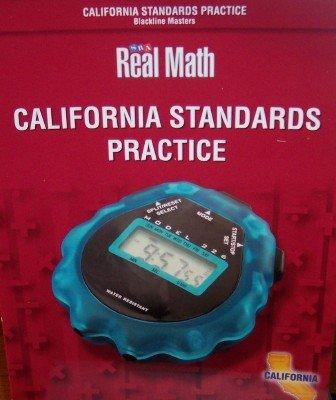 Download California Standards Practice Grade 6 (SRA Real Math, Blackline Masters) PDF