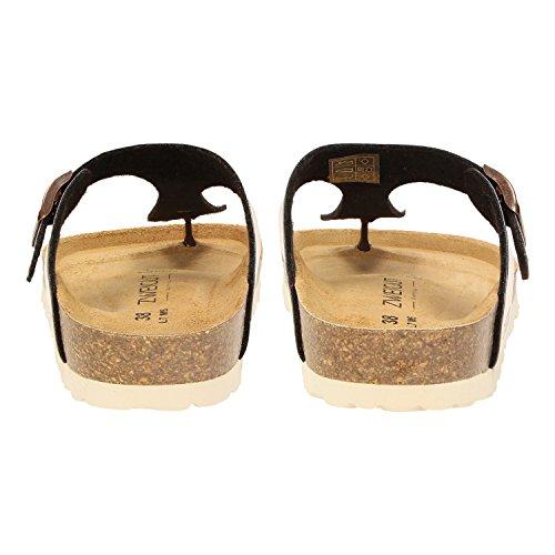 ZWEIGUT Luftig #555 - Sandalias de vestir de Material Sintético para mujer cobre