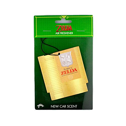 Legend of Zelda The NES Cartridge Air Freshener | Official The Video Game Collectible | New Car Scent (Zelda Breath Of The Wild Memories Locations)