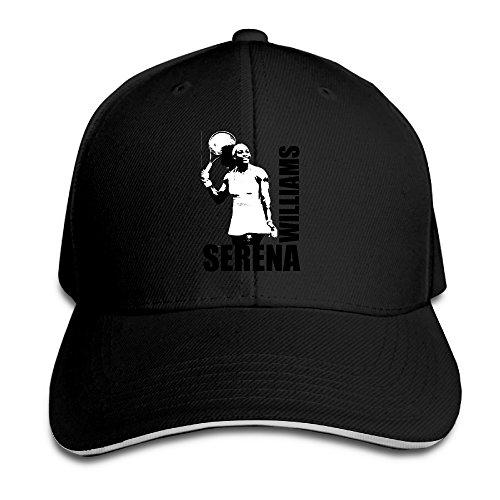 MARC Custom Serena Williams Adult Fishing Cap Hats Black