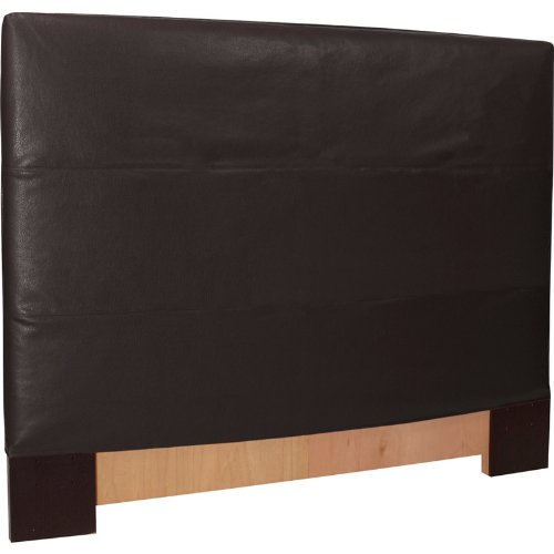 Howard Elliott 124-194 Headboard Slipcover, King, Avanti Black - Upholstered Headboard Slipcover