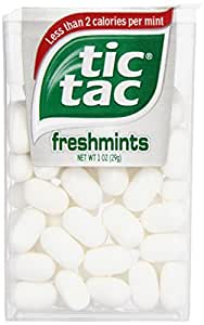 tic tac Freshmint Singles, 1 Ounce (Pack of 12)