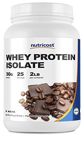 Nutricost Whey Protein Isolate (Mocha) 2LBS