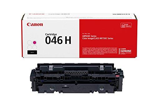 Canon 046 High Capacity Toner Cartridge (Magenta, 1 Pack) in Retail Packaging