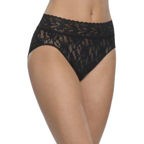 Hanky Panky Women's Signature Lace French Bikini, Black LG