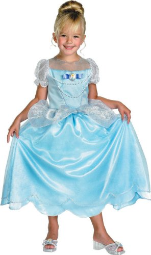 Cinderella Classic Costume - Medium (Disney Princess Girls Cinderella Classic Costume)