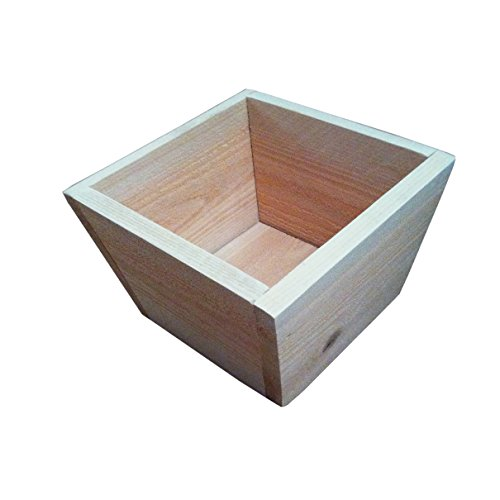Cedar Square Planter Box - Great for Flowers Vegetables or