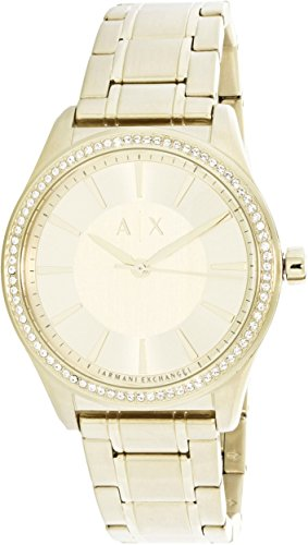 Armani Exchange Women's AX5441 Gold Watch
