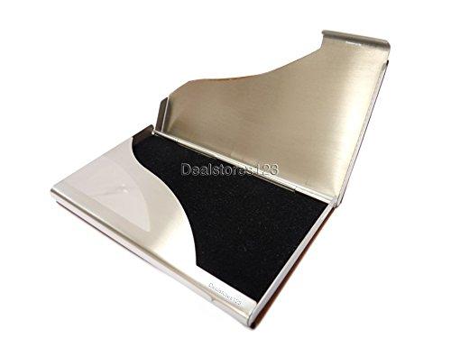 03 pu Dealstores123 Sold Business Card by Wallet Holder steel only Dealstores123 I8xfv0v