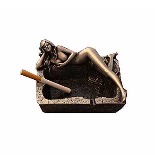 LuckySHD Beauty Ashtray Naked Beauty Ashtray for Home Decor or Bar Decorations-As Fantasy Gifts for Men or Smokers