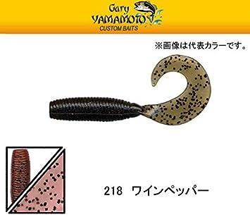 "Gary YAMAMOTO  4/"" SINGLE TAIL GRUB  Japan Package"