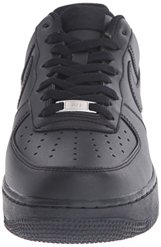 Low Nike da Air Force uomo '07 nero 1 Sneakers 001 Black nero HSCwf
