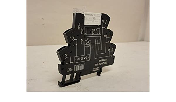Weidmuller TRZ 24VDC 1C0 Relay Socket W/Relay, 24Vdc: Amazon ... on