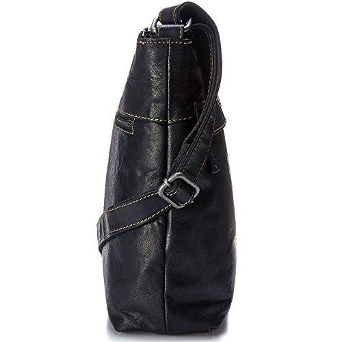 Leather Black Hobo Zip Collection Jack Top Georges Voyager Bag 8fqgqwtz