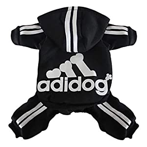 Scheppend Original Adidog Pet Clothes for Dog Cat Puppy Hoodies Coat Winter Sweatshirt Warm Sweater Dog Outfits 31